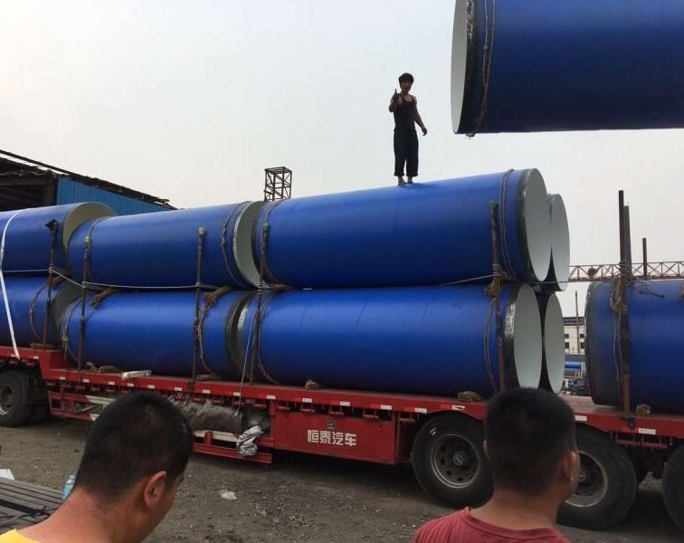案例展示 FBE防腐钢管发货