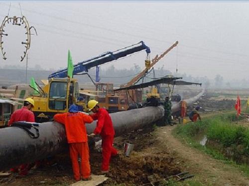 水厂管道施工