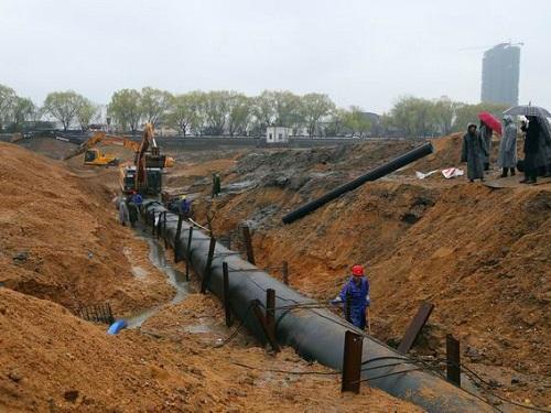 市政输水管道安装